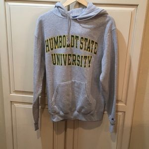 Columbia eco fleece Humboldt state hoodie m